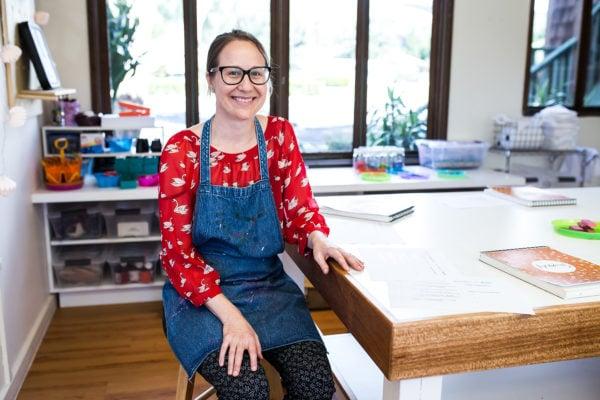 Alexandra Bates Hustace '94, lower school art teacher