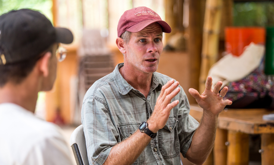 Willie Quayle, Ulu Mālama farm manager and environmental educator