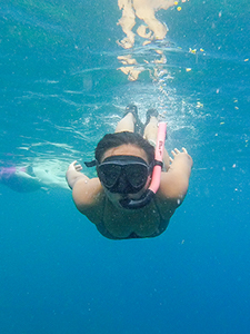 Summer program at HPA, snorkeling
