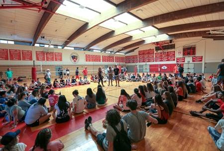 Castle Gymnasium, upper school campus at HPA