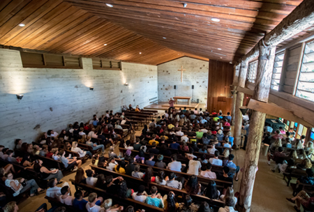Davies Chapel, upper school campus at HPA