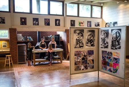 Gerry Clark Art Center, upper school campus at HPA