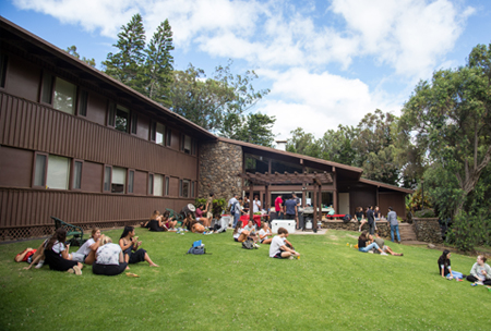 Residence Halls, dorms, upper school campus at HPA