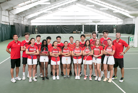 Rutgers Tennis Center, upper school campus at HPA