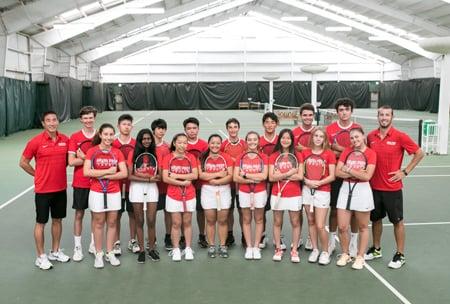 Rutgers Tennis Center, upper school campus at HPA