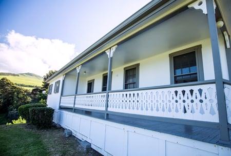 Waiaka House, upper school campus at HPA