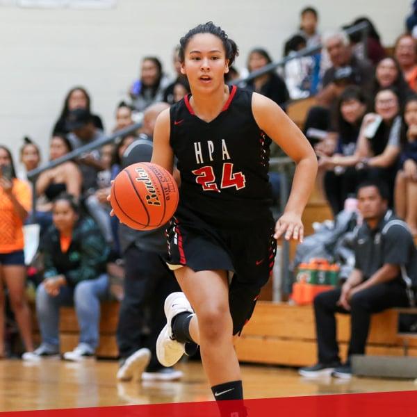 Girls basketball, upper school at HPA