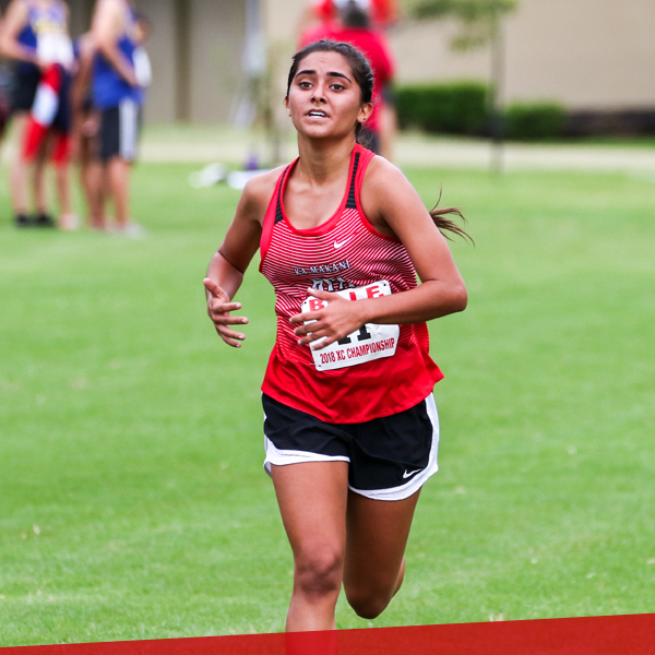 Girls cross country, upper school at HPA