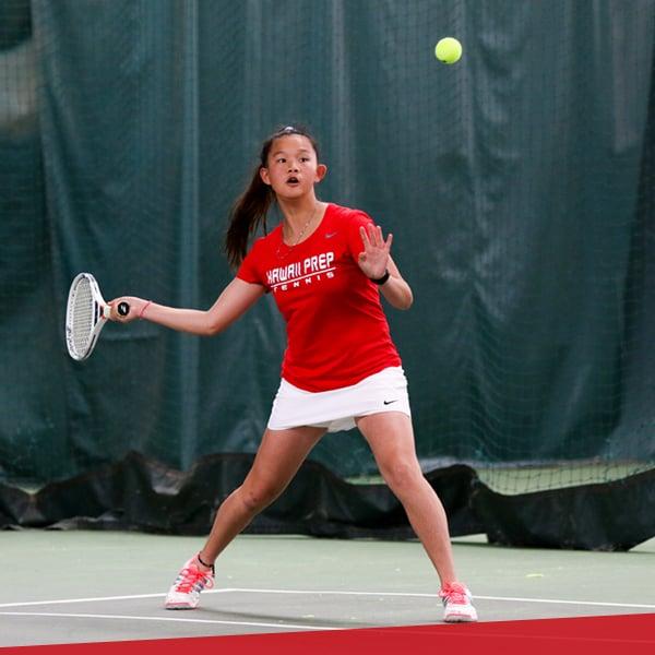 Girls/Boys tennis, upper school at HPA