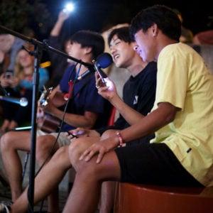 Lava Lounge open mic, Upper School