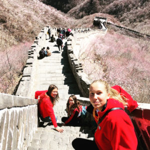 Exploring the Great Wall, China, 2019