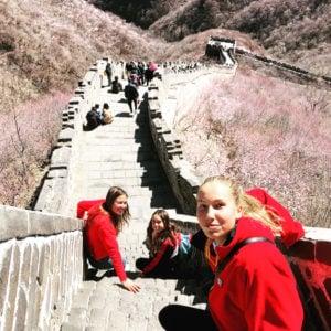 Exploring the Great Wall, China, 2019