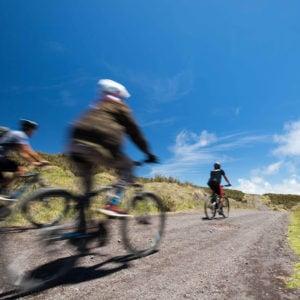 Mountain biking, Mana Road