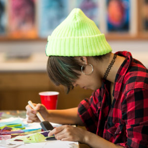 Mixed media, Gerry Clark Art Center, Upper School