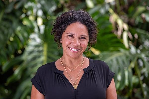 Zaheva Knowles, director of alumni programs