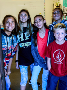 Finding balance middle school at HPA