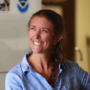 Laura Jim, HPA middle school science teacher, associate director Sea Turtle Research Program