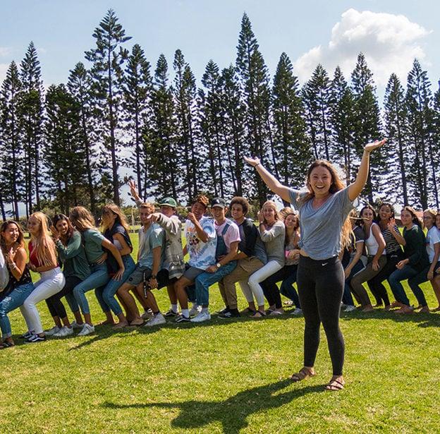 Hawai'i Preparatory Academy, seniors, upper school