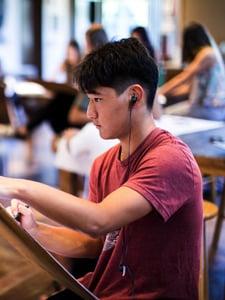 Arts at HPA, visual, performing, digital and music