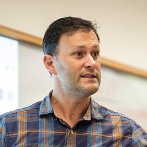 Jeff Mix, HPA coordinator and teacher, English language learner program