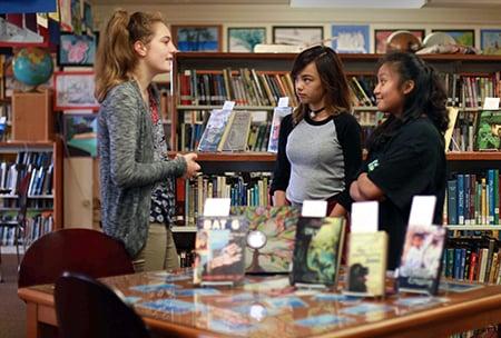 Village campus Lynn Taylor Library
