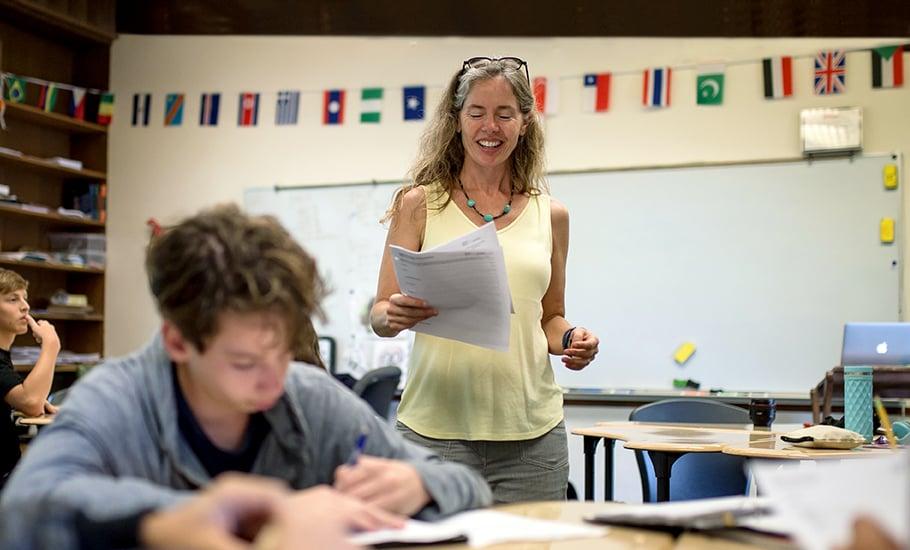 Kiera Horgan, social studies department chair and coach