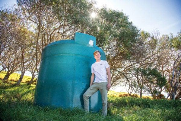 Alec Eyckeler '2 focused his senior capstone project on pumped-storage hydropower.